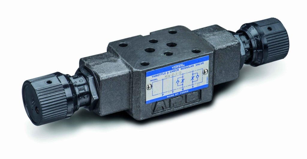 Hydraulic Yuken Series Directional Control Position Monitoring Electro-Hydraulic Reversing ...